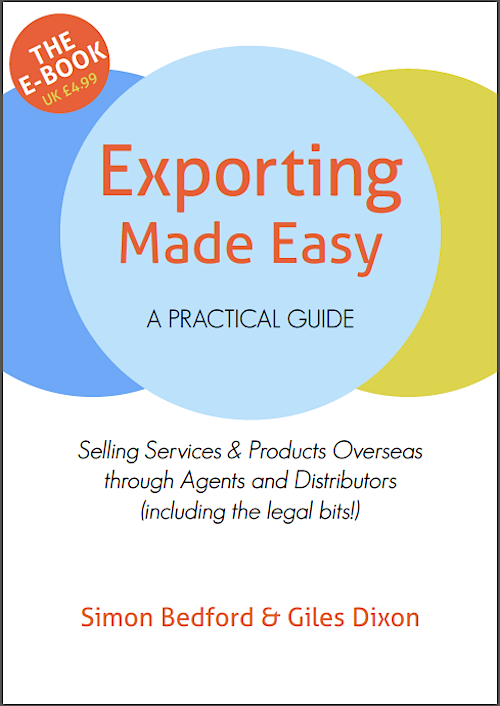 Download the Ebook Exporting Made Easy by Simon Bedford and Giles Dixon for £4.99